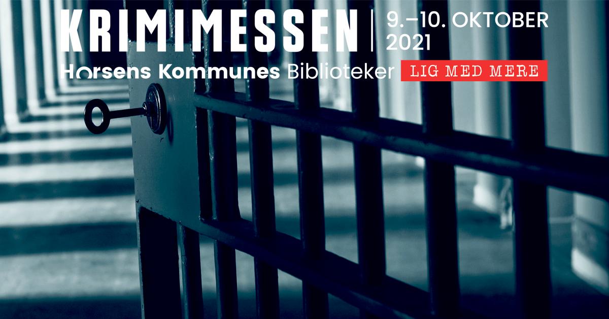 Logo for krimimessen, 9.-10. oktober, 2021