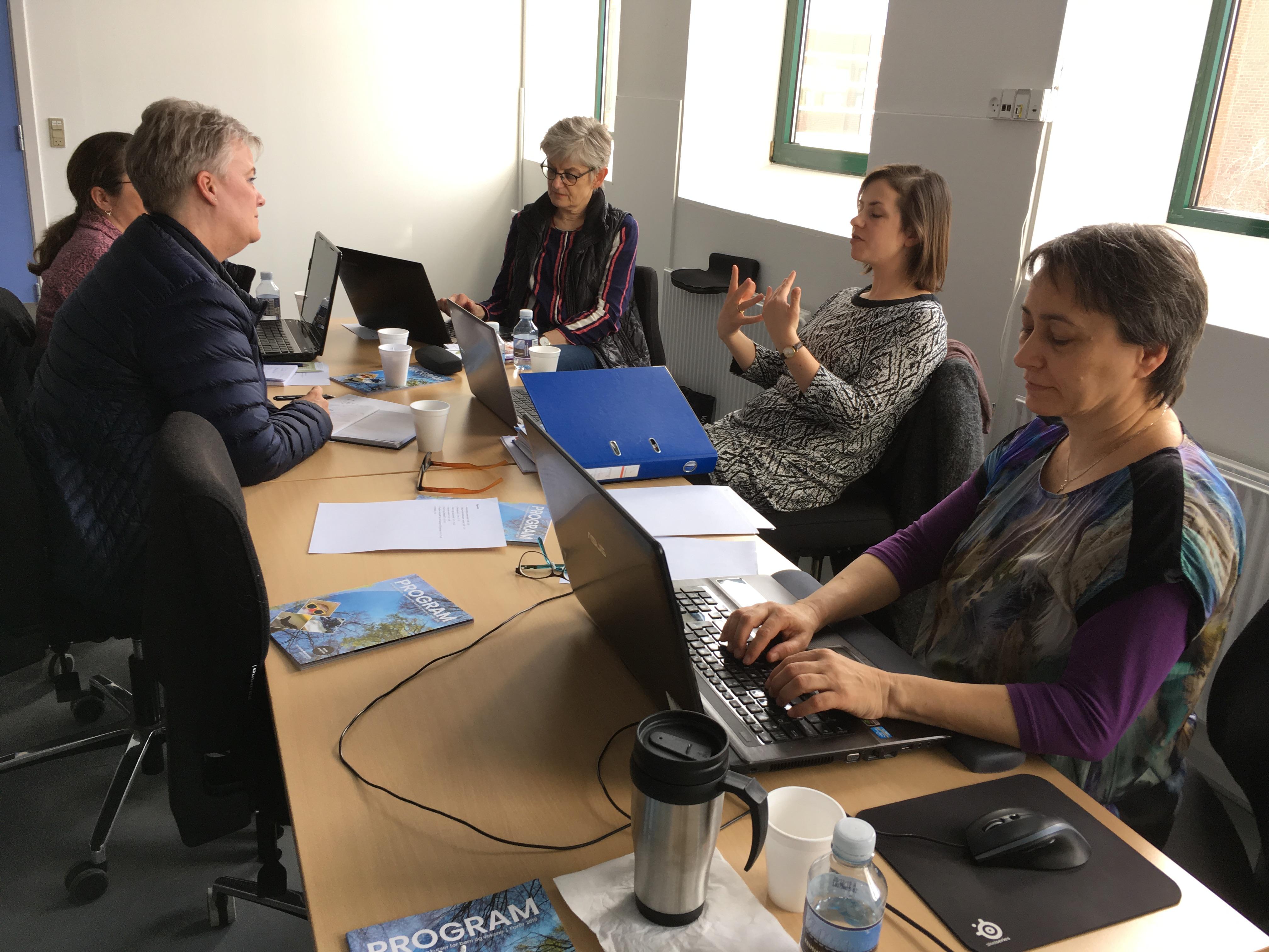 Billede fra workshoppen