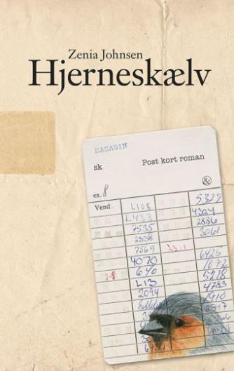 Zenia Johnsen: Hjerneskælv : postkortroman