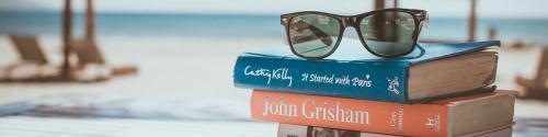 Bøger på stranden