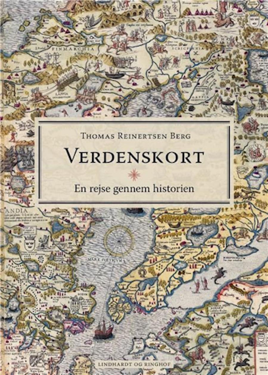 Forside til bogen Thomas Reinertsen Bergs Verdenskort