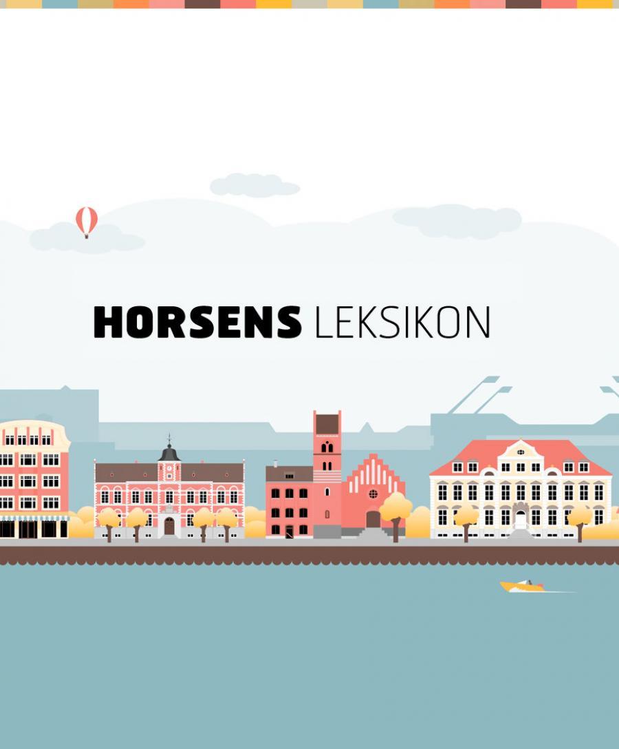 Horsens Leksikon - Logo og grafik