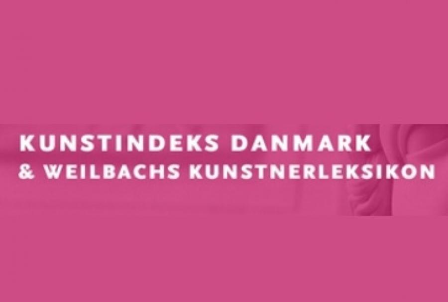 kunstindeks danmark & weilbachs kunsnterleksikon