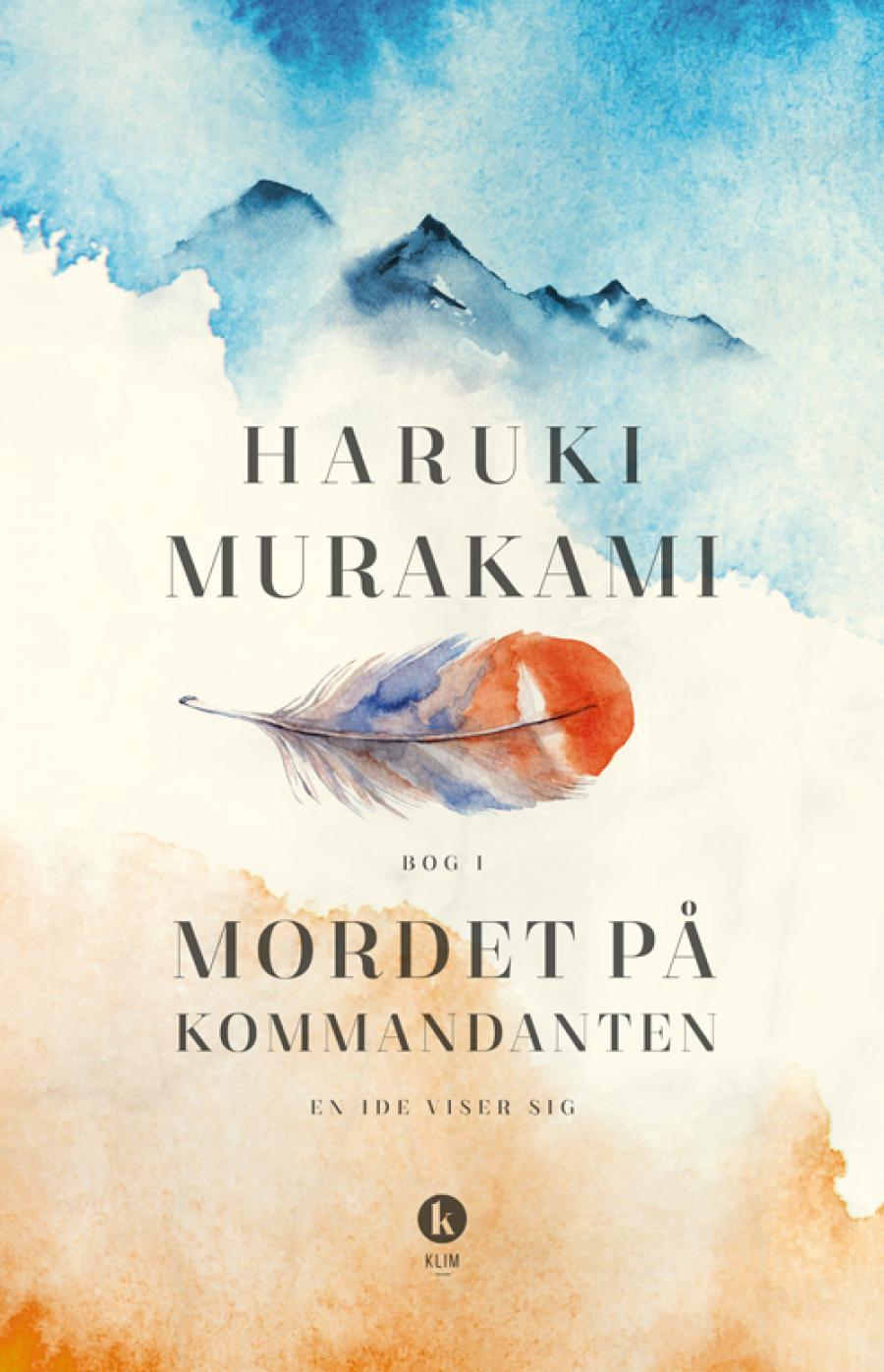 Forside til bogen Mordet på kommandanten - en ide viser sig af Haruki Murakami