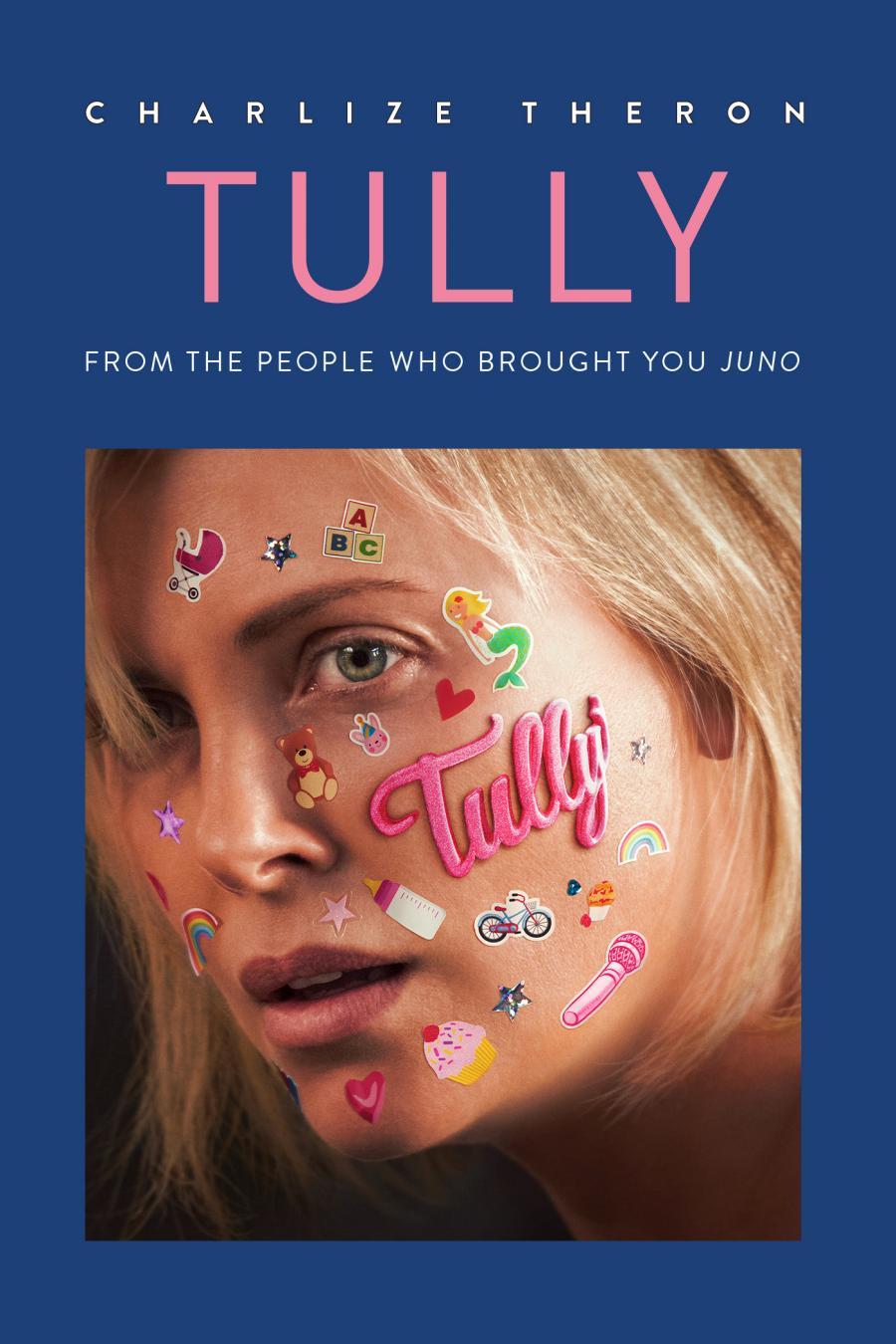 Fra filmen Tully der kan streames via Filmstriben