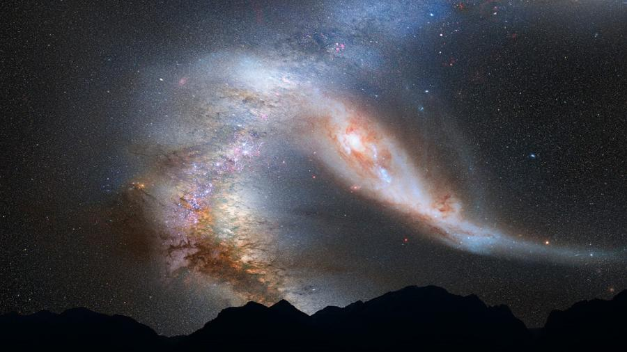 Androma galaksen