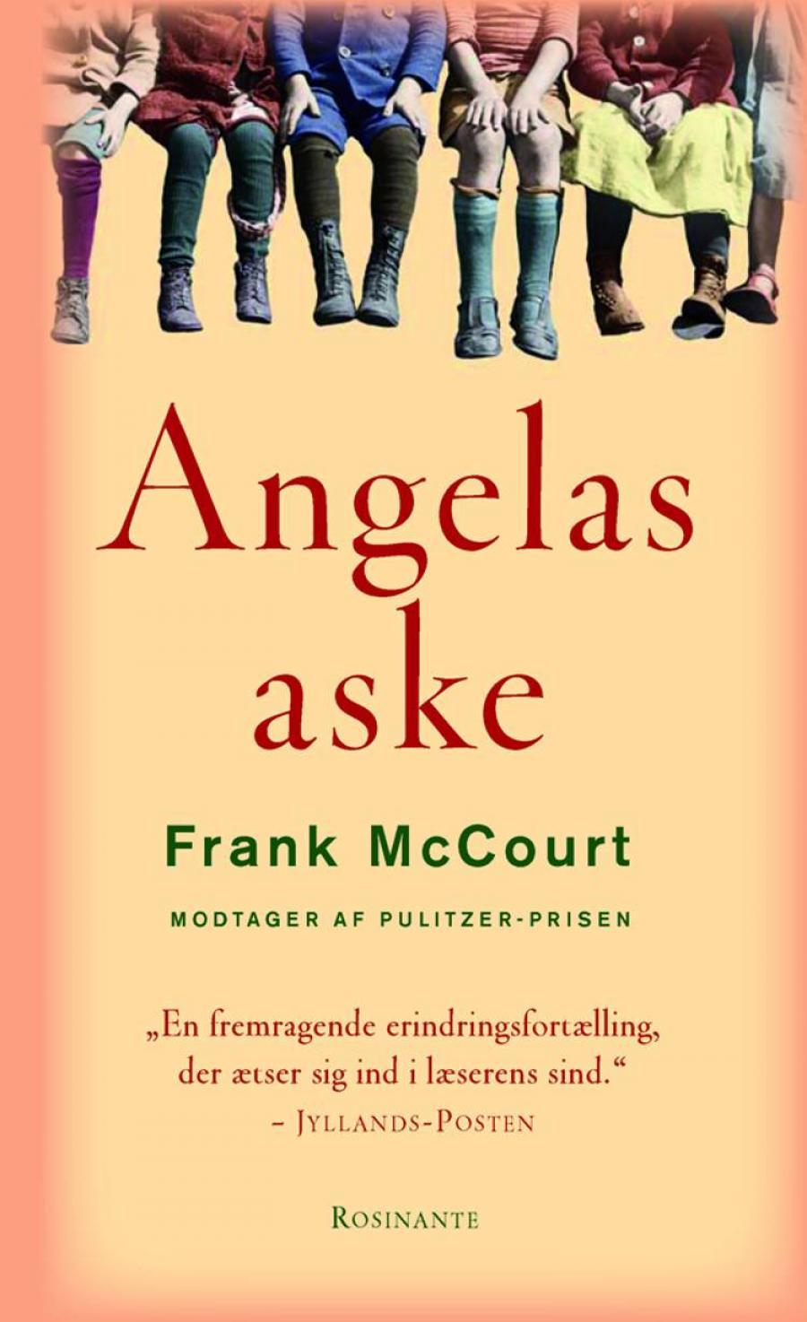 """Forsiden på """"Angelas aske"""" af Frank Mccourt"""