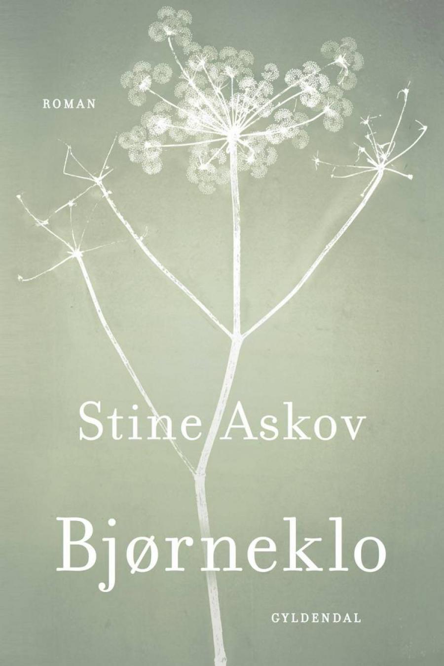 """Forside på """"Bjørneklo"""" af Stine Askov"""