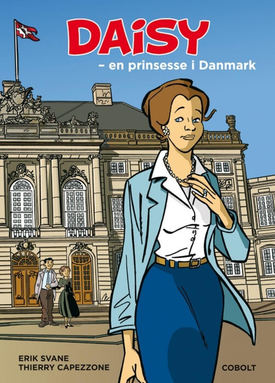 Forside på Erik Svane og Thierry Capezzones Daisy - en prinsesse i Danmark