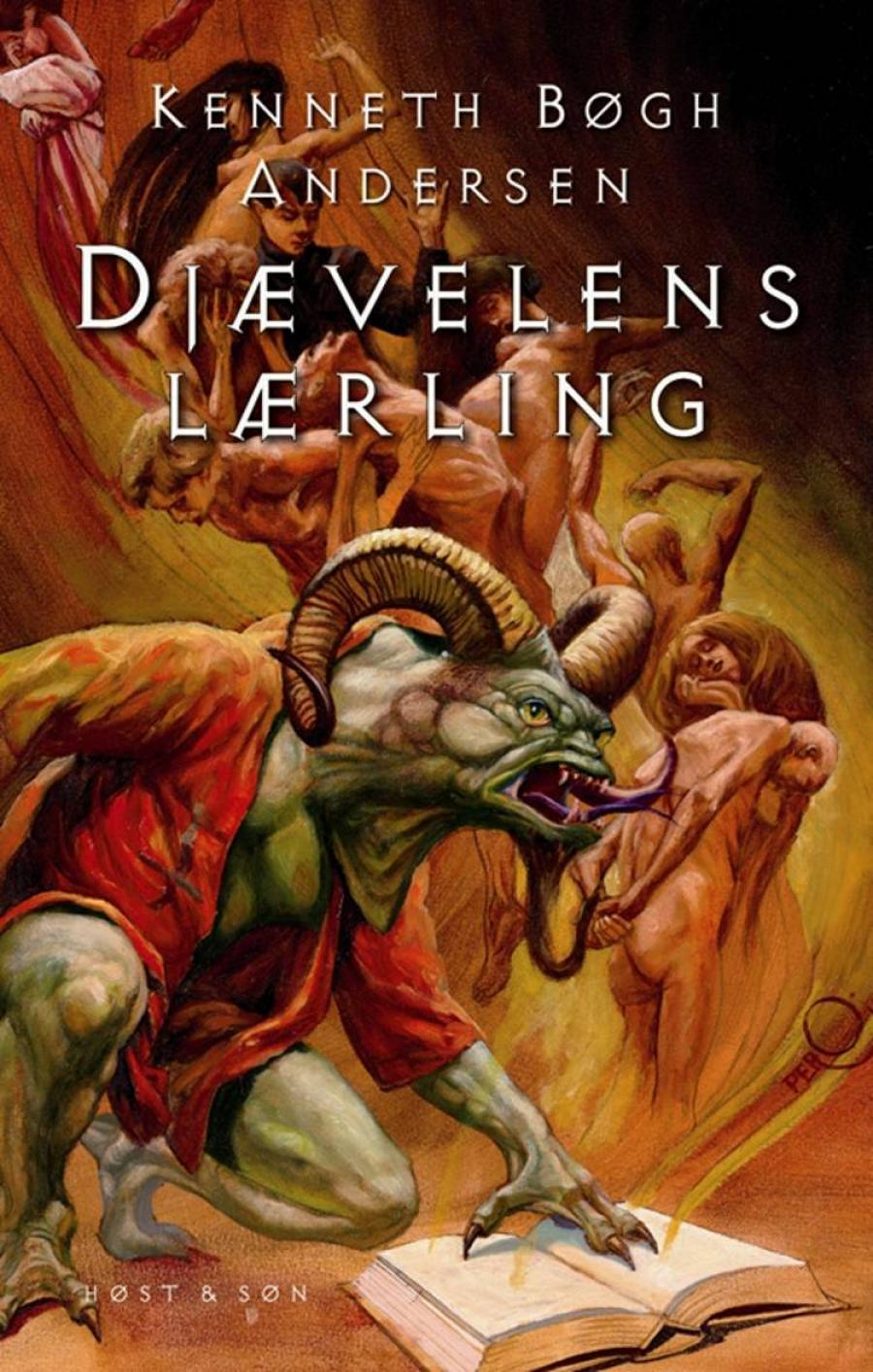"""Forsiden til """"Djævelens lærling"""" af Kenneth Bøgh Andersen"""