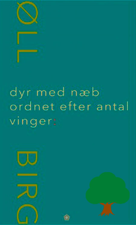 Dyr med næb ordnet efter antal vinger af Birgitte Krogsbøll