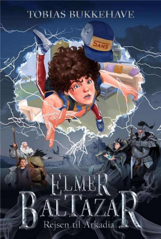 Forside til bogen Elmer Baltazar - rejsen til Arkadia af Tobias Bukkehave