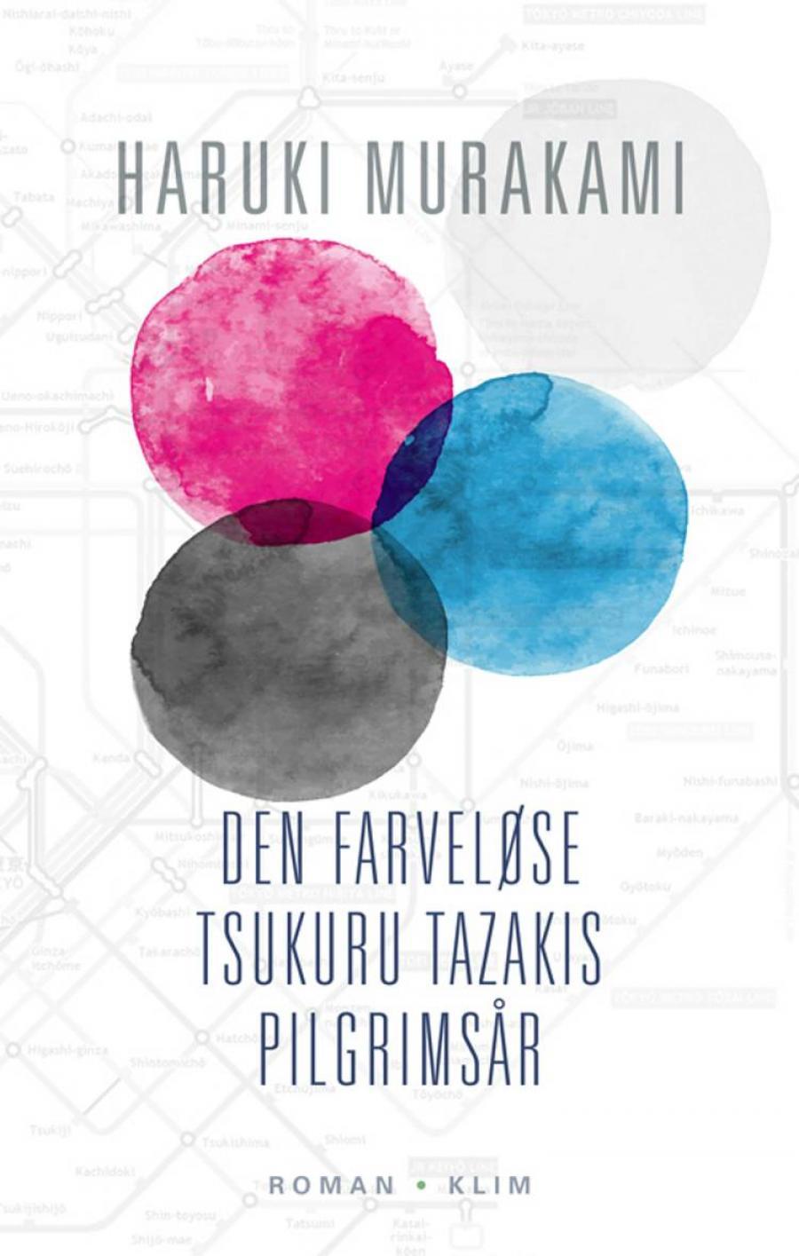 Den farveløse Tsukuru Tazakis pilgrimsfærd