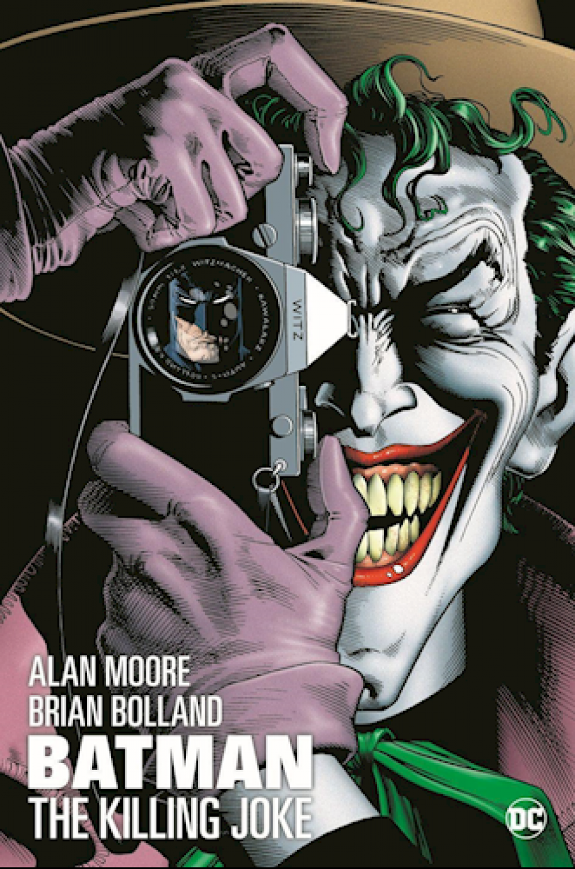 Forside til tegneserien Batman - the killing joke af Alan Moore og Brian Bolland