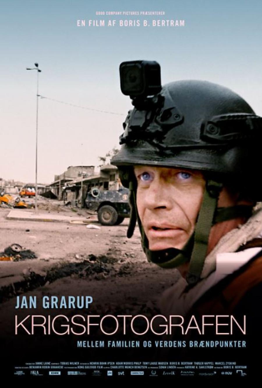 """Plakat for filmen """"Krigsfotografen"""""""
