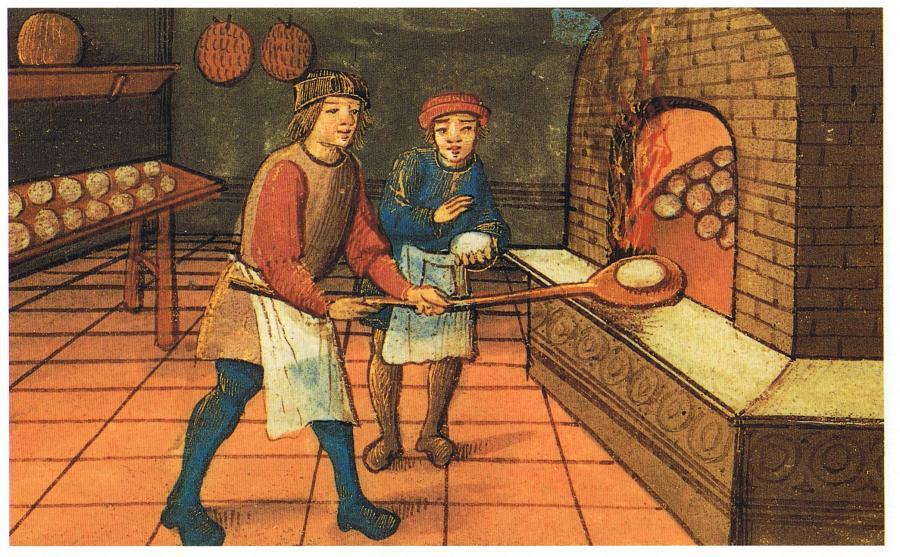 Bager fra middelalderen