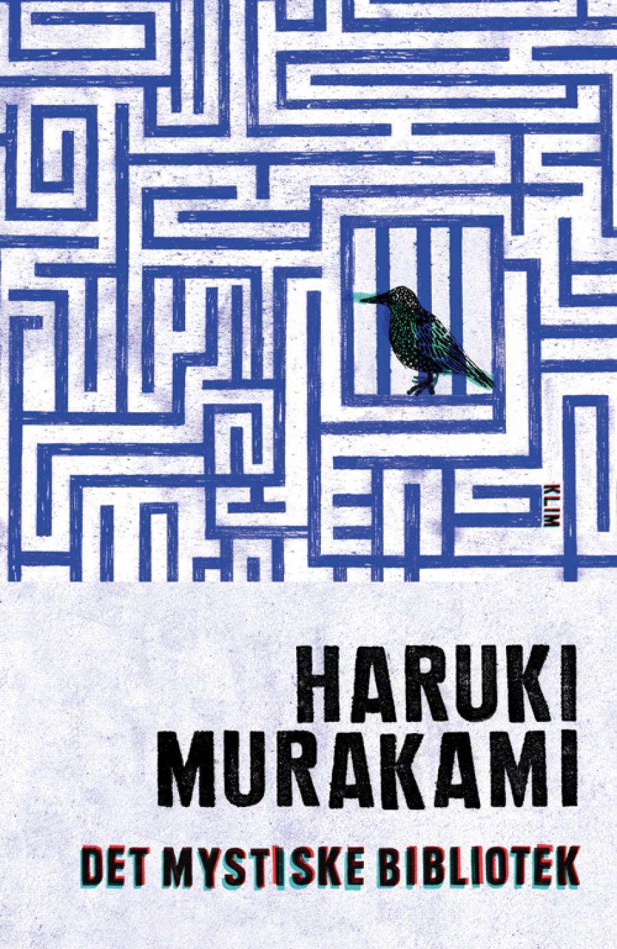 Bogforsiden til bogen Det mystiske bibliotek af Haruki Murakami