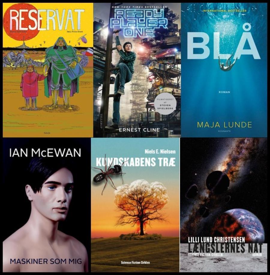 Forsider af science fiction romaner