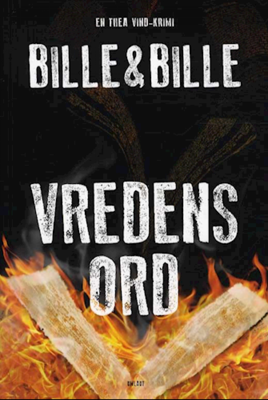 Forside til bogen Vredens ord af Bille & Bille