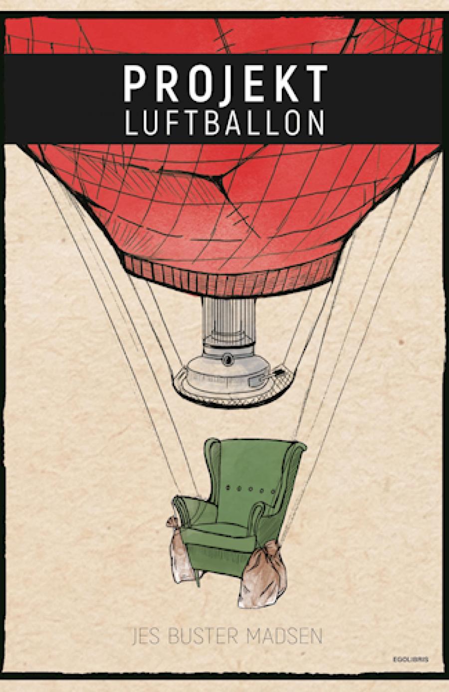 Forside til bogen Projekt luftballon af Jes Buster Madsen