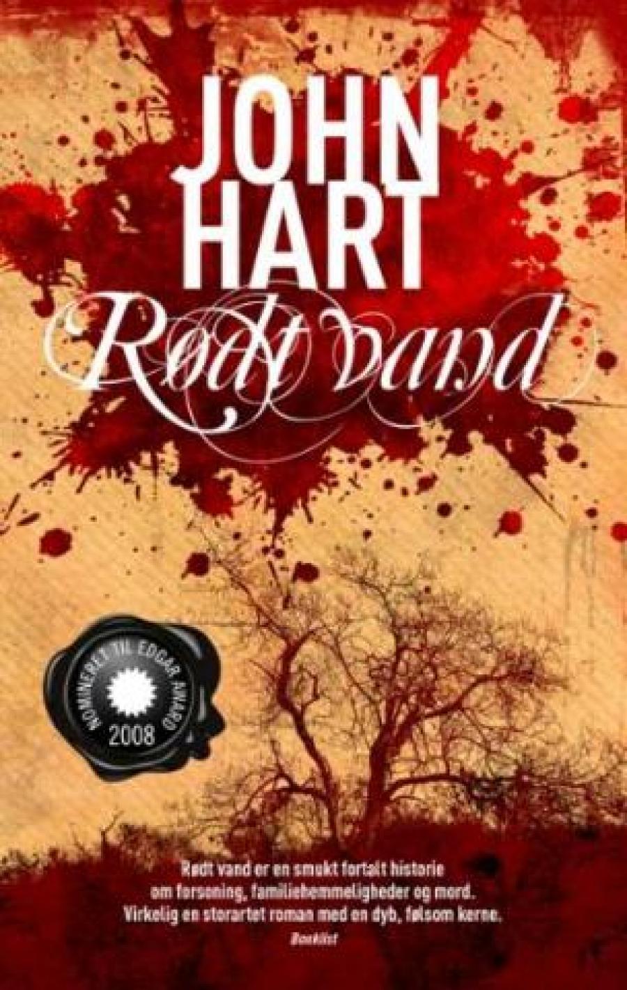 Rødt vand af John Hart