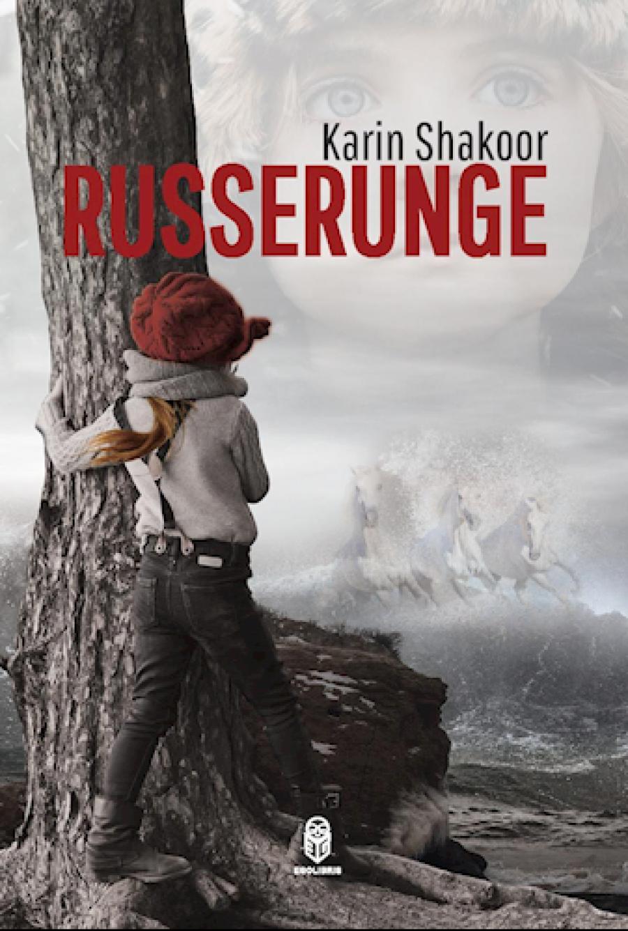 """Forside til """"Russerunge"""" af Karin Shakoor"""