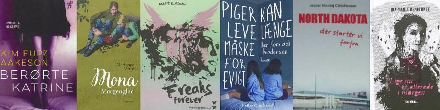 Stærke ungdomsromaner, Horsens Bibliotek