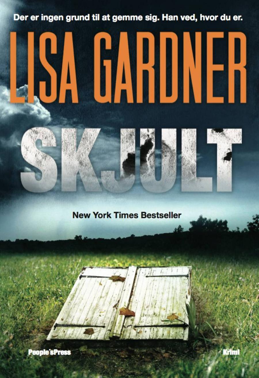 """Forside til """"Skjult"""" af Lisa Gardner"""
