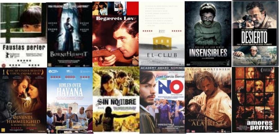 Sammensætning af spanske filmplakater