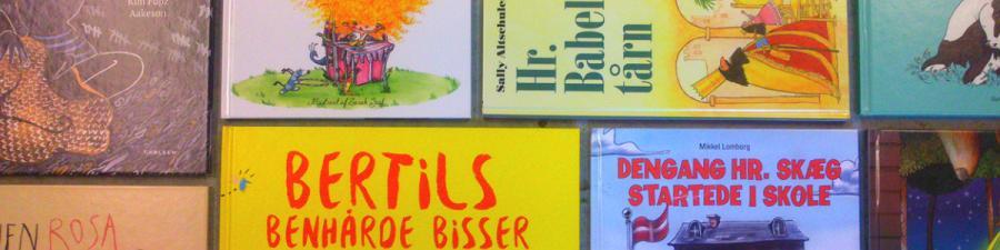 Nye billedbøger på Horsens Bibliotek