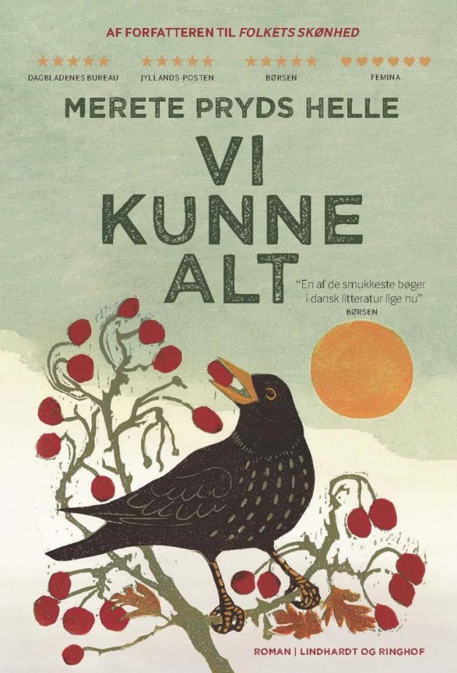 """Forsiden til """"Vi kunne alt"""" af Merete Pryds Helle"""