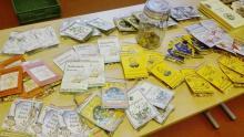 Et udvalg af krydderiblandinger fra Mårslet Brændevinslaug